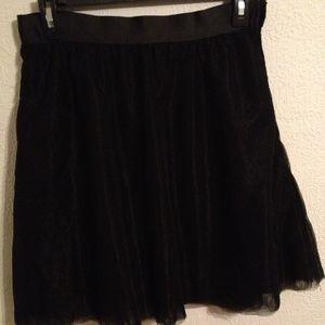 Black Tulle Mini